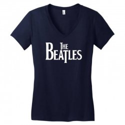 the beatles lennon mccartney starr georg musica Women's V-Neck T-Shirt | Artistshot
