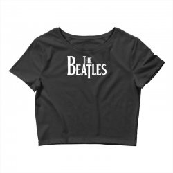 the beatles lennon mccartney starr georg musica Crop Top | Artistshot