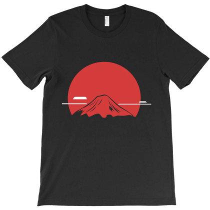 Mountain T-shirt Designed By Fahmifutri