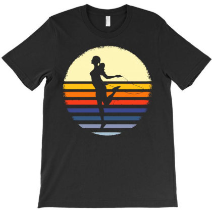 Rope Jumping Retro Jump Skipping T-shirt Designed By Lyly