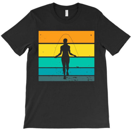 Rope Jumping Skipping Jumper Jump T-shirt Designed By Lyly