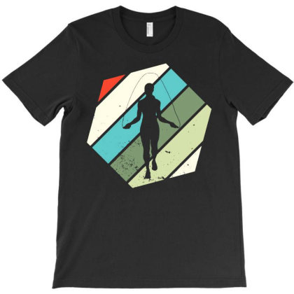 Rope Jumping Vintage Ropes Jump Skipping T-shirt Designed By Lyly