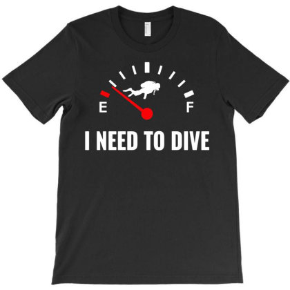 Scuba Diver Funny T-shirt Designed By Ismi