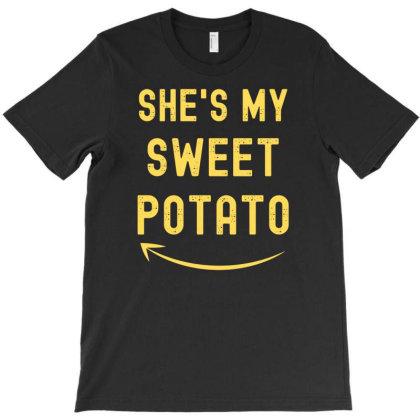 She's My Sweet Potato T-shirt Designed By Ismi
