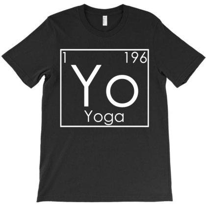 Zen Yoga Periodic Elements Spiritual Namaste T-shirt Designed By Ismi