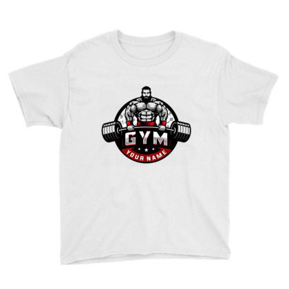 Bodybuilding Youth Tee Designed By Şen