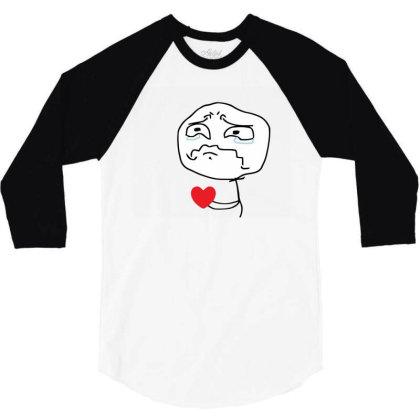 Broken Heart 3/4 Sleeve Shirt Designed By Şen
