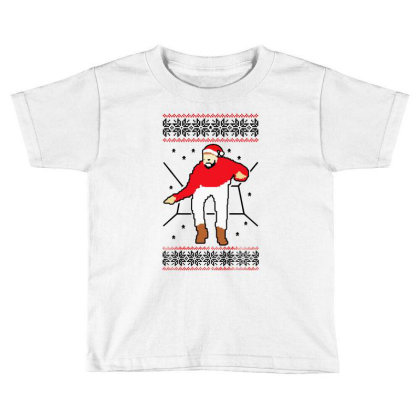 Bling Christmas Toddler T-shirt Designed By Donkey Apparel