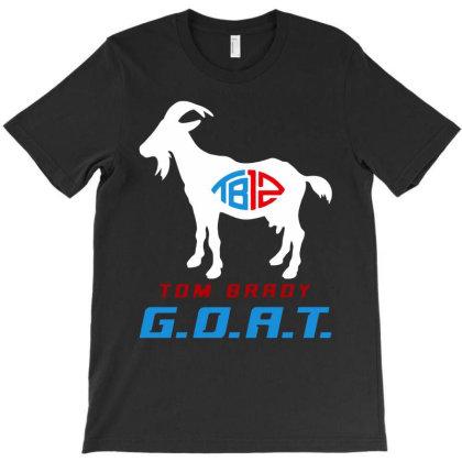 Tom Brady Goat 12 T-shirt Designed By Hot Trends
