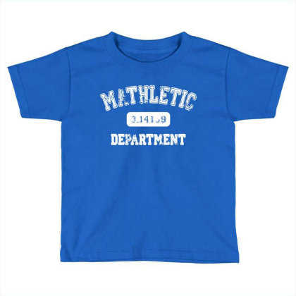 Mathletic Math Teacher Pi Mathematics Mathlete Calculus Algebra 01 Toddler T-shirt Designed By Wowotees