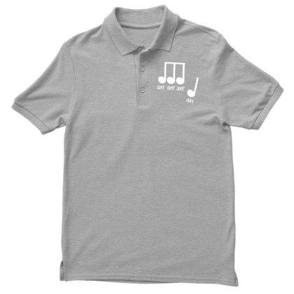 Men's Dunt Dunt Dunt Duh Funny Music Note T Shirt 01 Men's Polo Shirt