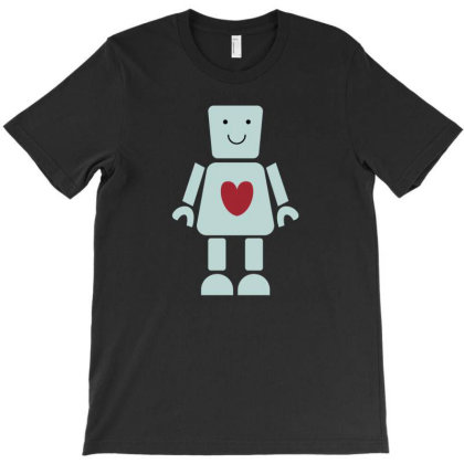 Love Robot T-shirt Designed By Fahmifutri