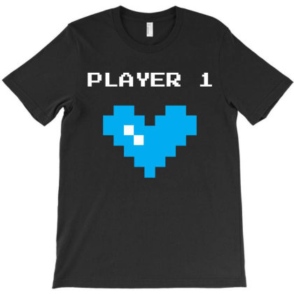 Player 1 T-shirt Designed By Fahmifutri