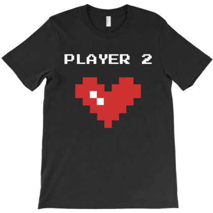 Player 2 T-shirt Designed By Fahmifutri