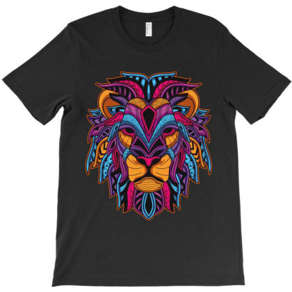 Lion Head T-shirt Designed By Rardesign