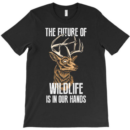 The Future Of Wildlife T-shirt Designed By Rardesign