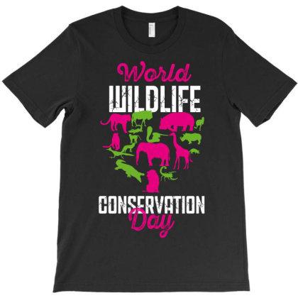 World Wildlife Conservation Day T-shirt Designed By Rardesign