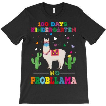 100 Days Probllama T-shirt Designed By Rardesign