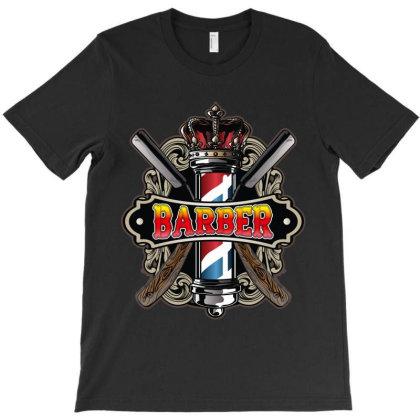 Barber T-shirt Designed By Rardesign
