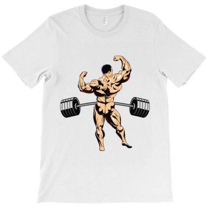 Bodybuilder T-shirt Designed By Rardesign