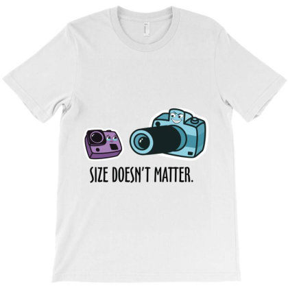 Size Doesn't Matter T-shirt Designed By Rardesign