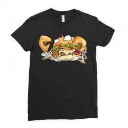 crabburger Ladies Fitted T-Shirt | Artistshot