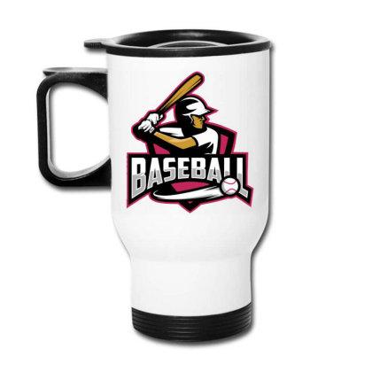 Baseball Travel Mug Designed By Lyaart