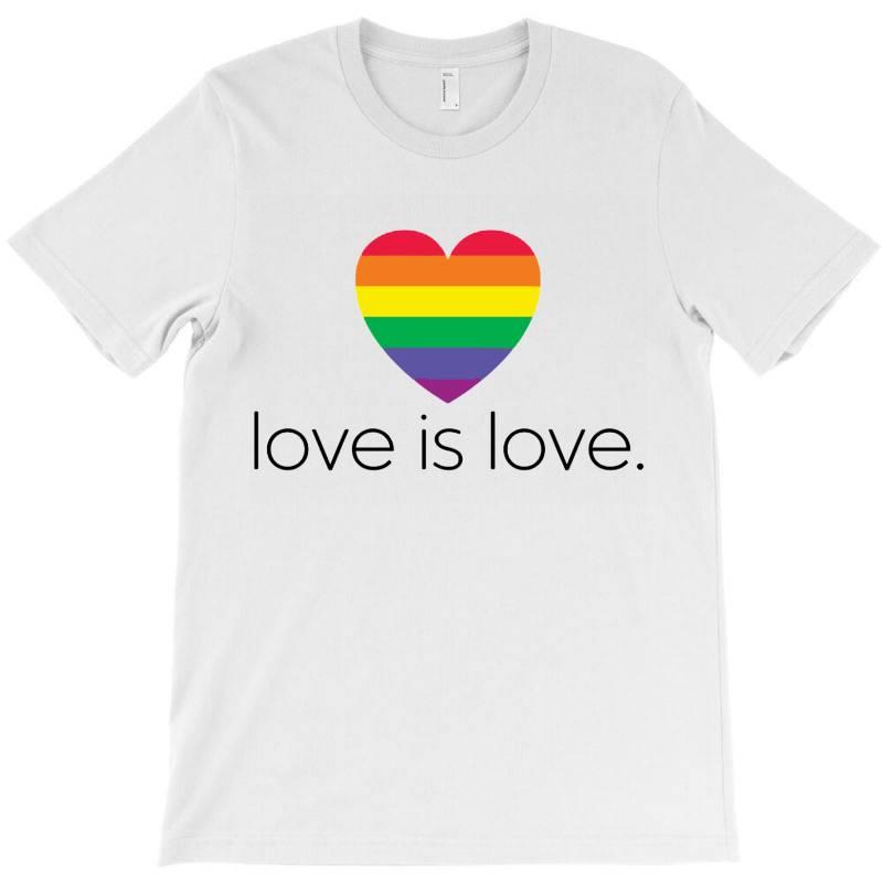 Love Is Love T-shirt   Artistshot