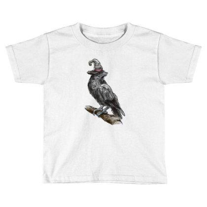 Watercolor Crown Toddler T-shirt Designed By Badaudesign