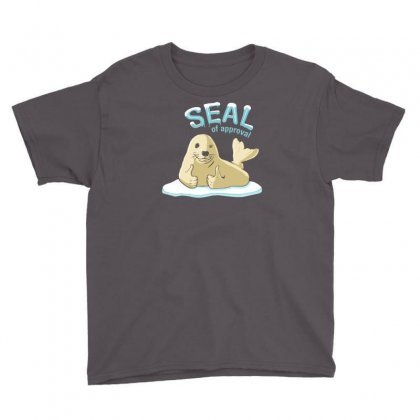 Seal Of Approval Youth Tee Designed By Gematees