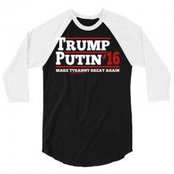 Trump Putin 2016 3/4 Sleeve Shirt | Artistshot