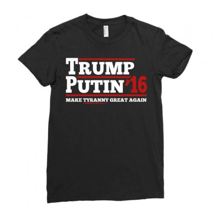 Trump Putin 2016 Ladies Fitted T-shirt Designed By Tshiart