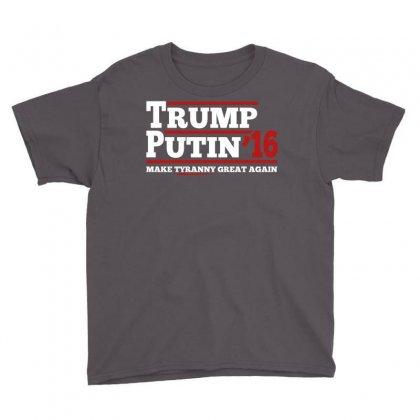 Trump Putin 2016 Youth Tee Designed By Tshiart