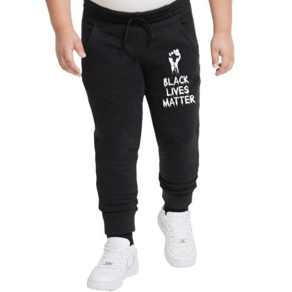 Black Lives Matter Youth Jogger Designed By Tshiart