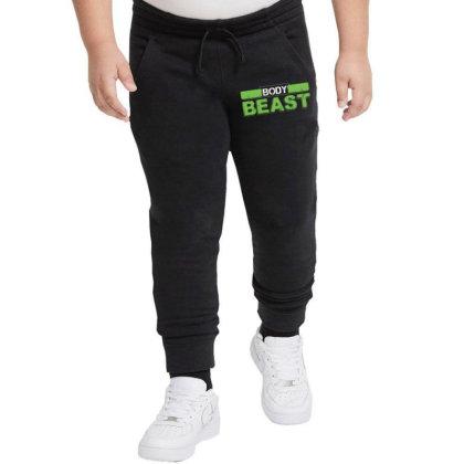 Body Beast Youth Jogger Designed By Tshiart