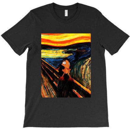 The Scream T-shirt Designed By Beach Boy