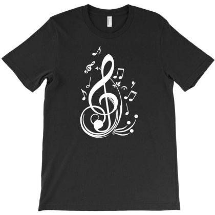 Music Notes T-shirt Designed By Toldo
