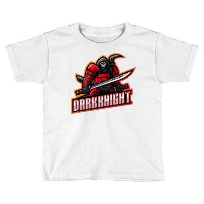 Dark Knight Toddler T-shirt Designed By Lyaart