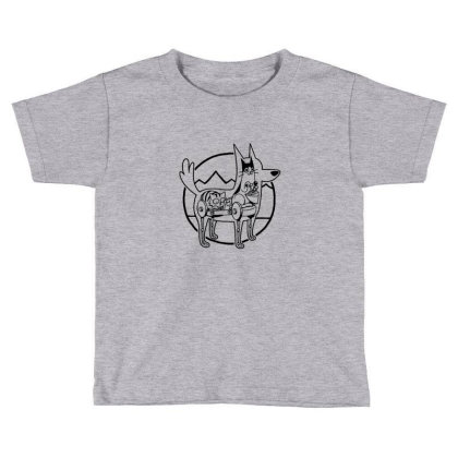 Canine Configuration Light Toddler T-shirt Designed By Blackstone