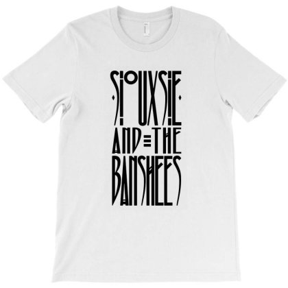 Siouxsie And The Banshees T-shirt Designed By Willo