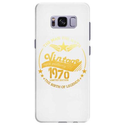 Vintage 1970 Birthday Samsung Galaxy S8 Plus Case Designed By Oktaviany