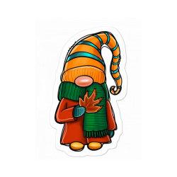 Fall Gnome Sticker Designed By Apollo