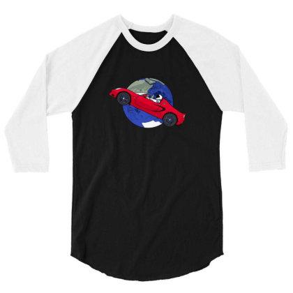 Starman Music Band 3/4 Sleeve Shirt Designed By Peri