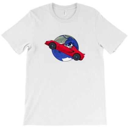Starman Music Band T-shirt Designed By Peri