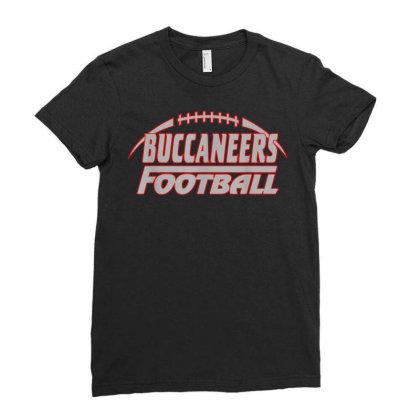 Buccaneers  Football Buccaneers  Football  T Shirt Ladies Fitted T-shirt Designed By Ryan2204