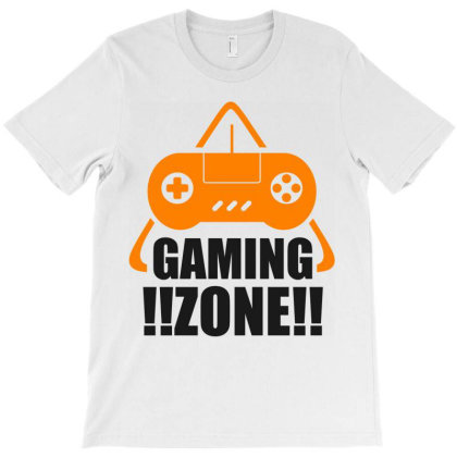 Gaming Zone T-shirt Designed By Chiks