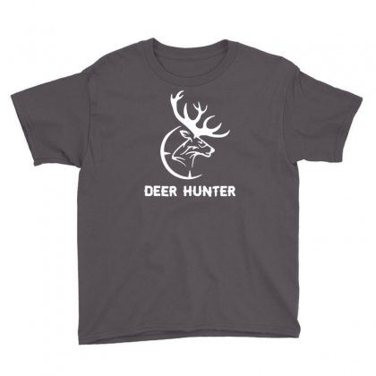 Deer Hunter Youth Tee Designed By Tonyhaddearts