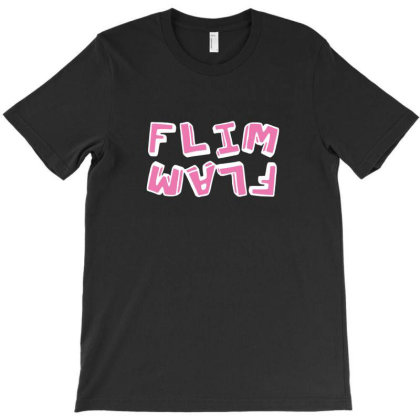 Flam Flim Flam Flamingo T-shirt Designed By Agus Loli