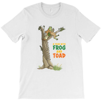 Adorable Frog And Toad T-shirt Designed By Agus Loli