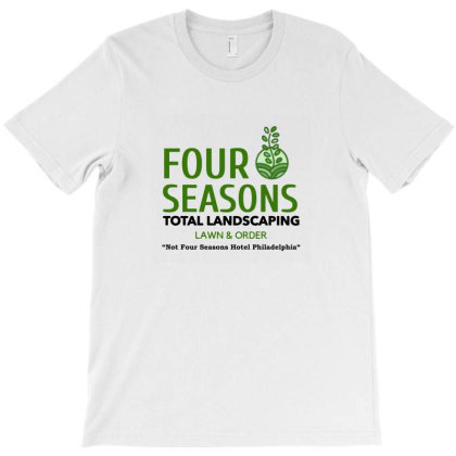 Four Seasons Total Landscaping T-shirt Designed By Agus Loli